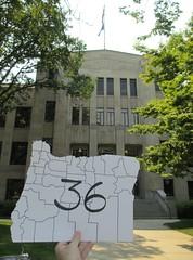 My 36th Oregon Courthouse (Medford, Oregon)