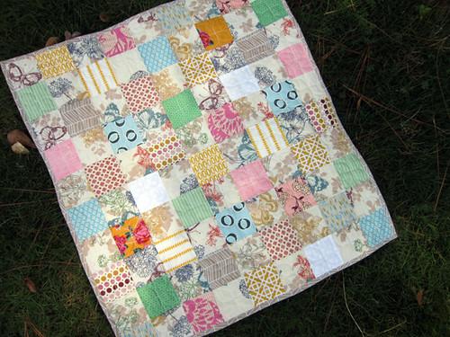 Whisper baby quilt