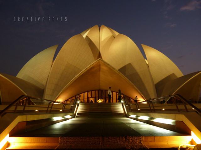 Lotus Temple / Bahai Temple, New Delhi