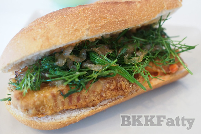 Turmeric Fried Tilapia and Dill Orgy – The Cha Ca La Vong Sandwich ...