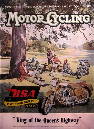 1955 BSA King of the Queen's Highway by bullittmcqueen