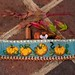 Pumpkin cuff by Plays With Needles