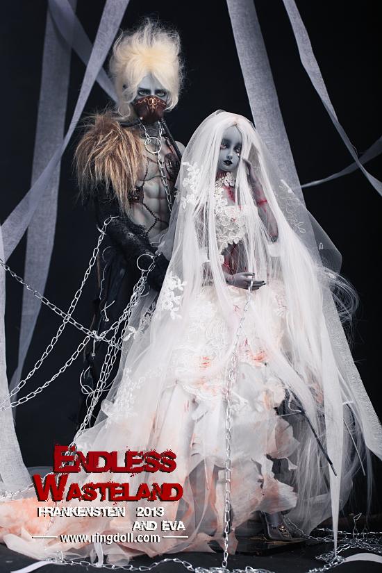 Страшные шарнирные куклы
