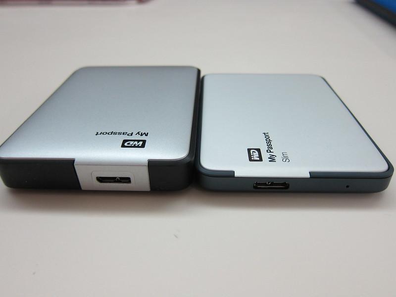 Western Digital My Passport Slim (1TB) vs Western Digital My Passport 2012 (1TB)