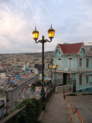 Casa de los Cuatro Vientos, cerro Artillería, Valparaíso