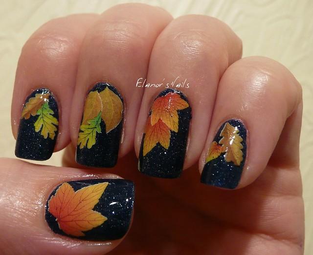 sunshine + leaves decals 1