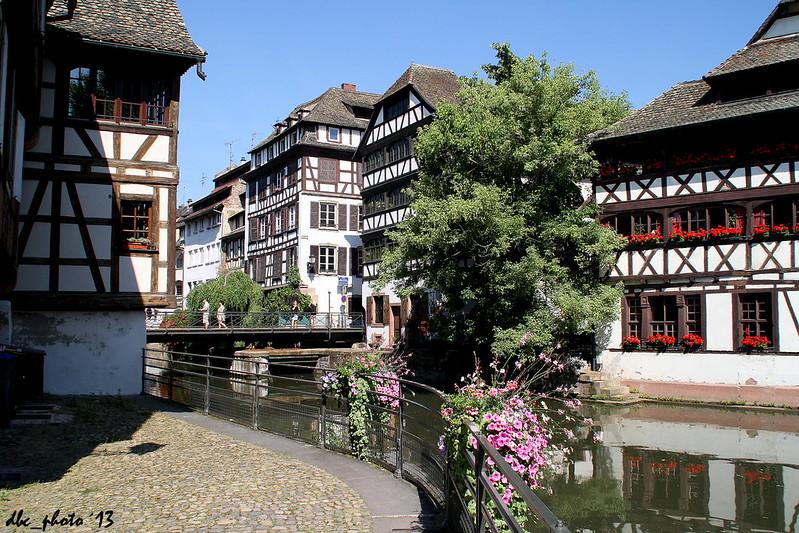 Canal en la La Petite France