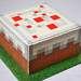 Minecraft Cake by Sweet Pudgy Panda