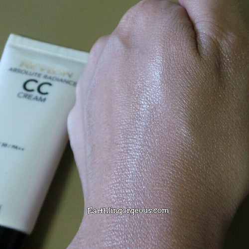 Revlon Absolute radiance Cc cream swatched and blended