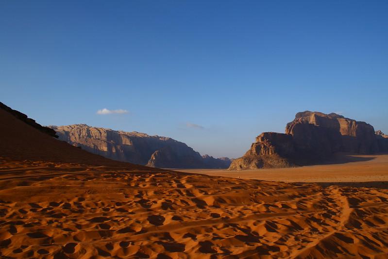 El rojo desierto