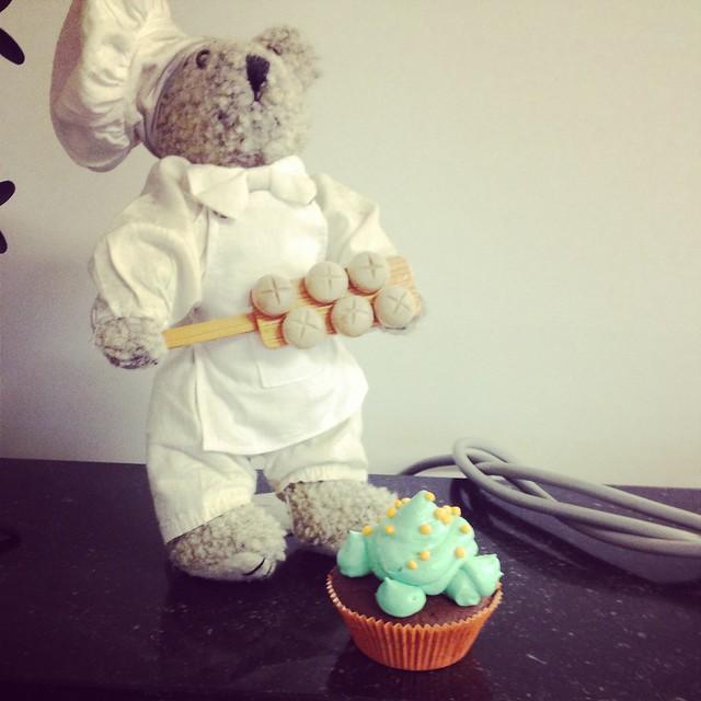 Cupcakes op school