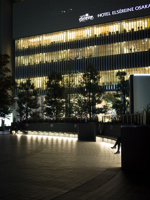 night shot at Dojima