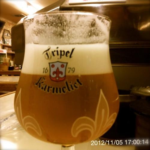ベルギービール大好き!!トリプル・カルメリートKarmeliet Tripel @あじわい回転寿司 禅(ZEN)