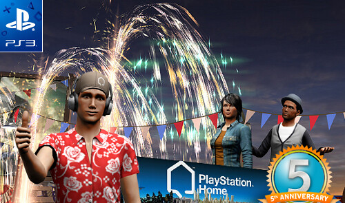 PS Home 5 ans