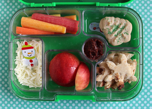 Big Kid Snowman Yumbox Bento #838