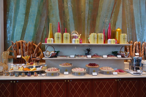 Cured meats, cheese & soup counter. Champagne Brunch. InterContinental Singapore.