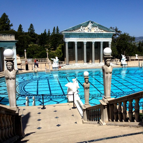 April- Hearst Castle
