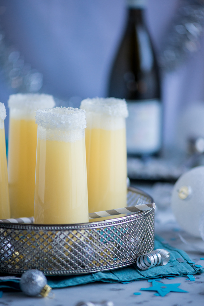 11631656716 a2541a9777 b Pineapple Coconut Champagne Cocktail and My Top 10 Recipes of 2013