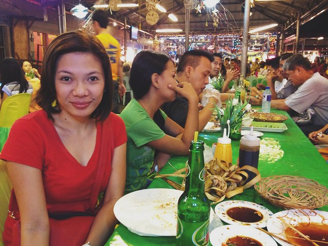 Dinner at Larsian sa Fuente