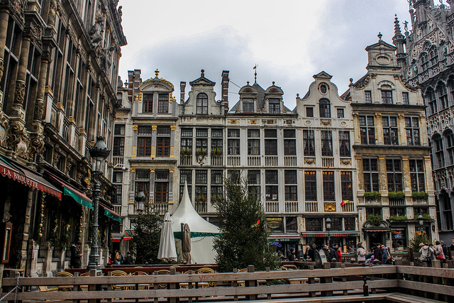 Grand Place Bruselas, capital de Bélgica