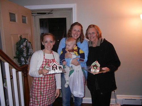 Dec 20 2013 Gingerbread Houses Ruth Sunny Vivian