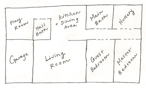 Rental House Floor Plan