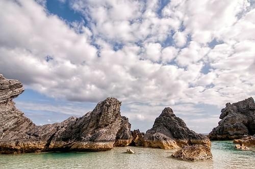 sky pool clouds rocks basin limestone nik horseshoebay bermuda colorefex atx124afprodx tonalcontrast tokina1224dxii topazdetail