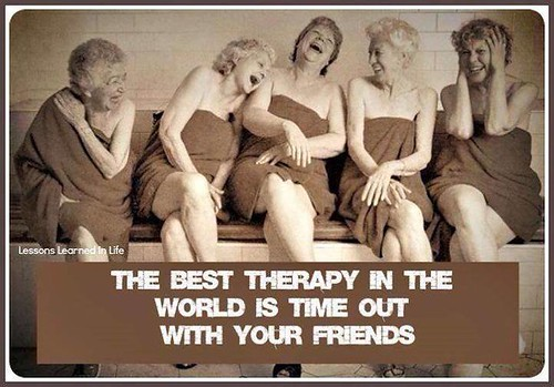 Middle Aged Mama - friends are the best therapy