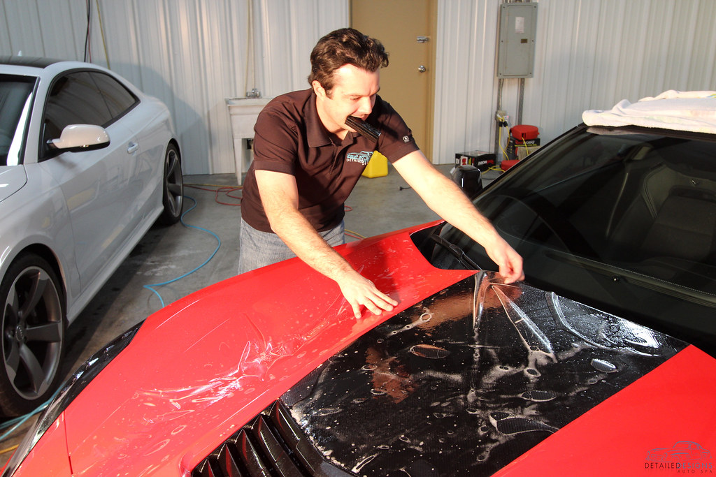 Paint Protection Film Clear Bra Installation Atlanta Detailed Designs Auto Spa