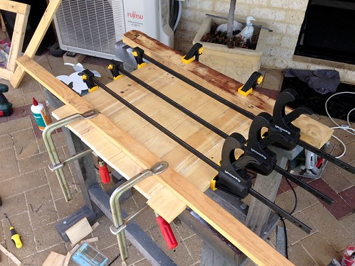 Clamping & Gluing Shelf