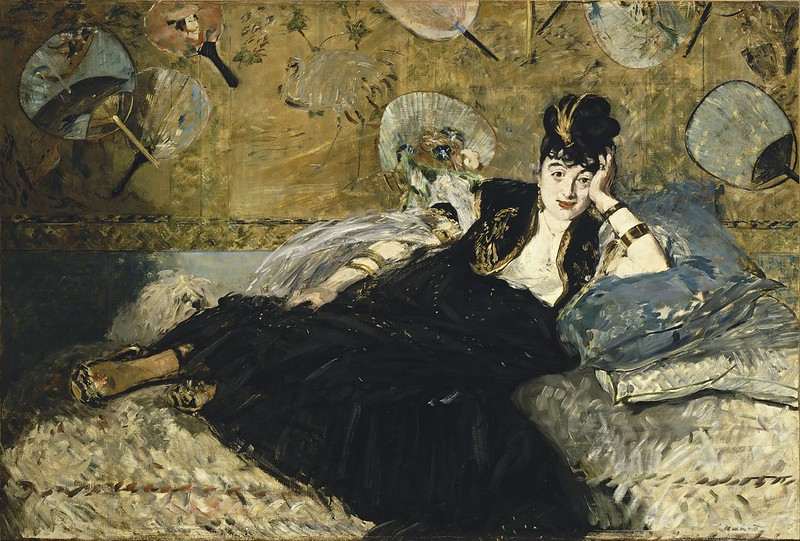 Edouard Manet - Woman with Fans (c.1873)