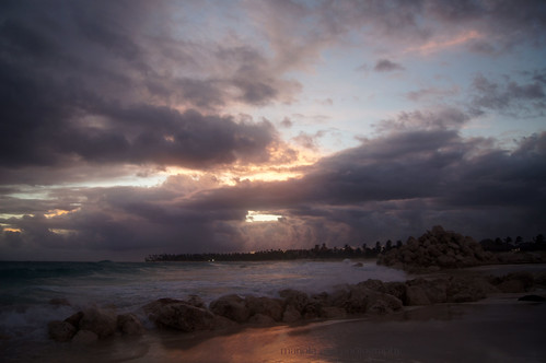 ocean morning pink blue light summer sky reflection beach nature wet water clouds sunrise sand rocks purple dominicanrepublic quote shoreline saying resort tones atlanticocean puntacana bavaro blueskythinking thegalaxy hardrockhotelcasino