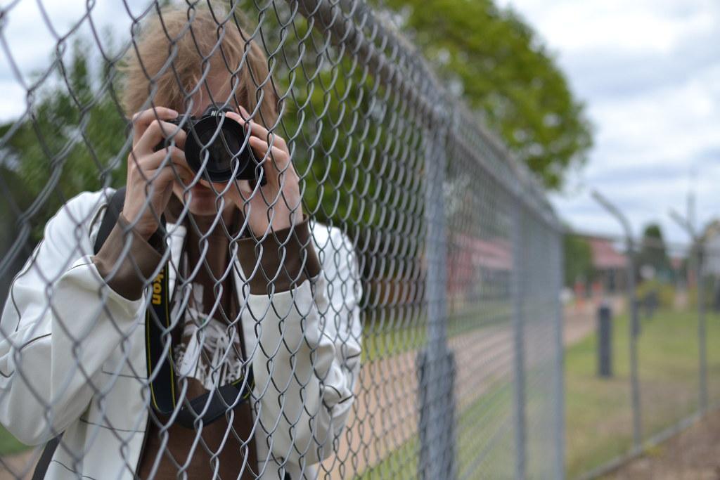 Ruben taking photo