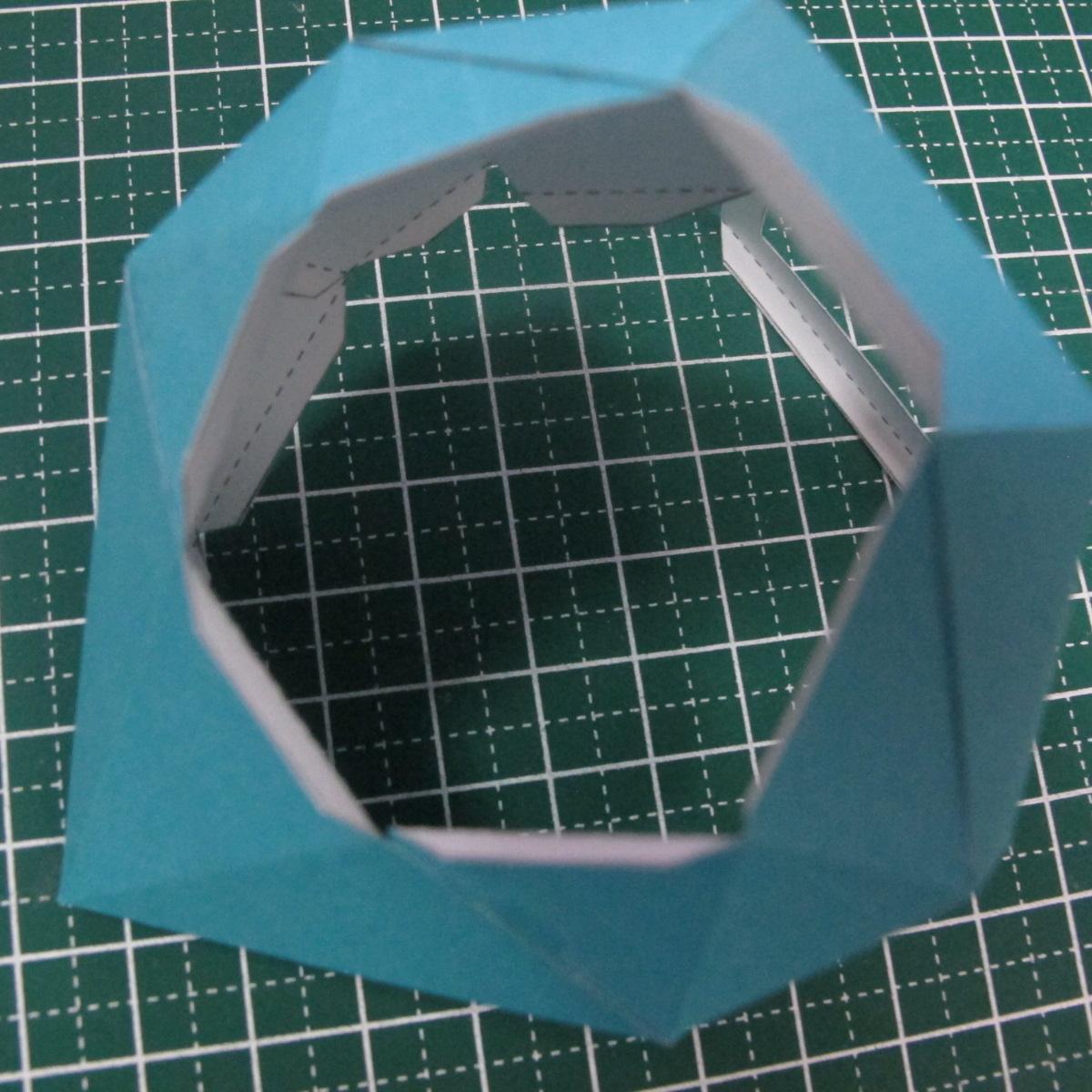 วิธีทำของเล่นโมเดลกระดาษรูปนก (Bird Paper craft ) 018