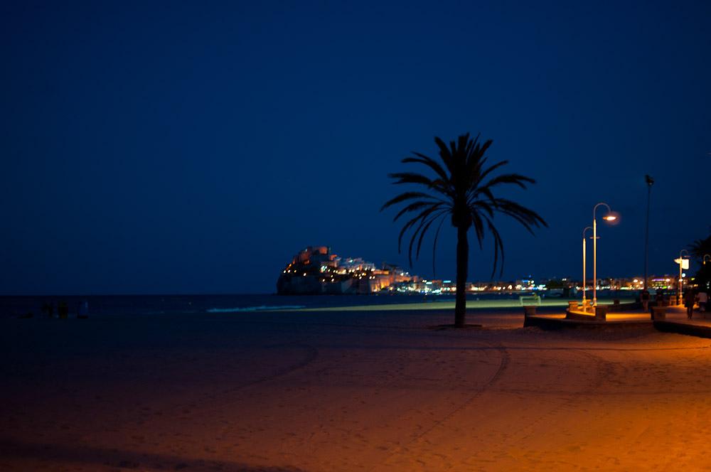 2. Hermosa vista nocturna de Peñíscola. Jexweber.fotos