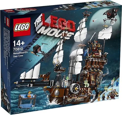 The LEGO Movie MetalBeard's Sea Cow (70810)