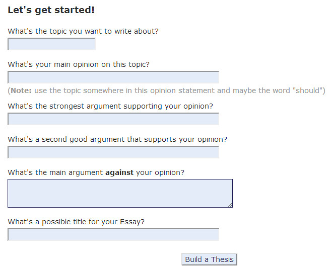 Where should ones strongest argument be in an essay