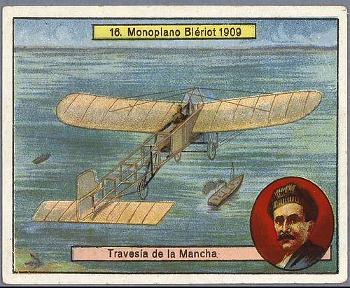 019- Monoplano Bleriot-Aviones y aviadores-SF-Biblioteca Digital Hispania