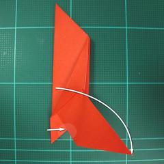 การพับกระดาษเป็นนกพิราบ (Origami pigeon) 00019