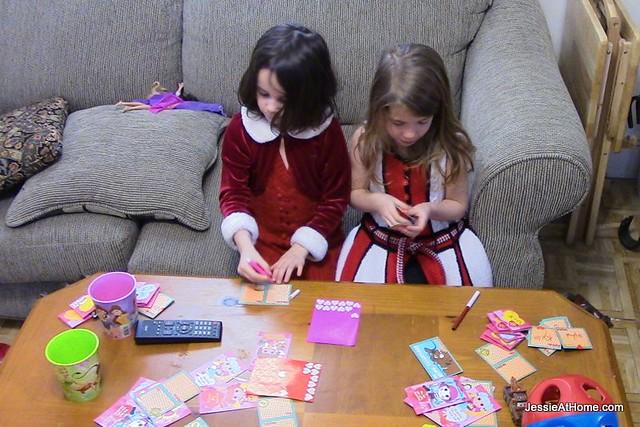 Writing-Valentine's-Cards