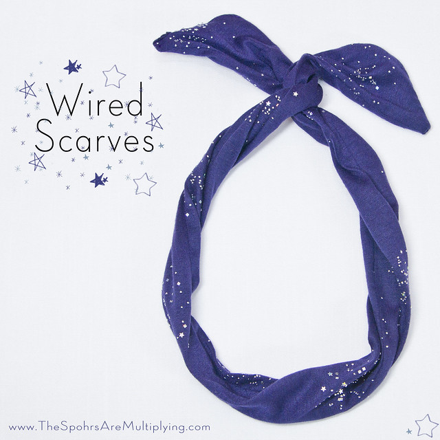 DIY Wired Scarves