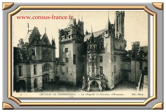 4 CHATEAU DE PIERREFONDS. - La Chapelle et l'Escalier d'Honneur. ND. Phot.