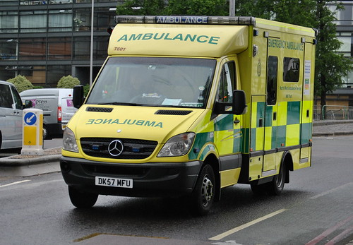 North West Ambulance Service | Mercedes Sprinter | Emergency Ambulance | T601 | DK57 MFU