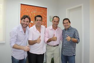 Jefferson Coriteac, David Martins, Dilson Santhiago e Paulinho da Força