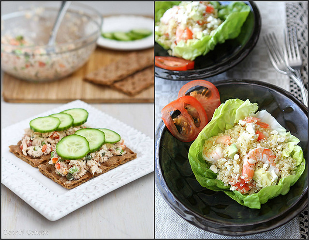 Healthy Lunch Recipes | cookincanuck.com #recipe