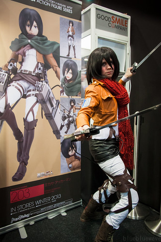 Attack on Titan cosplay at Made in Asia 6