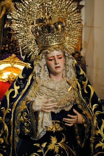 Virgen de la Quinta Angustia de José María Leal