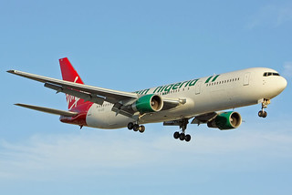 Virgin Nigeria 767-300 YL-LCZ