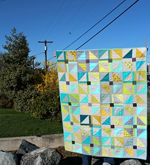 """Conversely"" ~ February 2014 quilt by FAITH Circle"