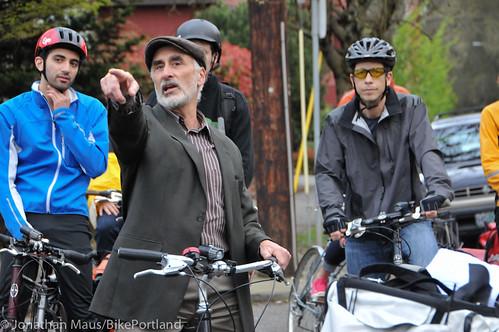 Bike Advisory Committee rides downtown-19